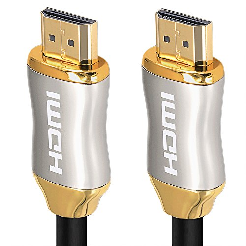 KIN&P HDMI Cable 40ft Ultra High Speed 18Gbps HDMI cables 2.0/1.4a Support 3D 2160P, HD 4k,Ethernet,Audio Return Channel,Lossless Audio and Video Transmission- Full Hd [Latest Version] (Plasma Native Resolution)