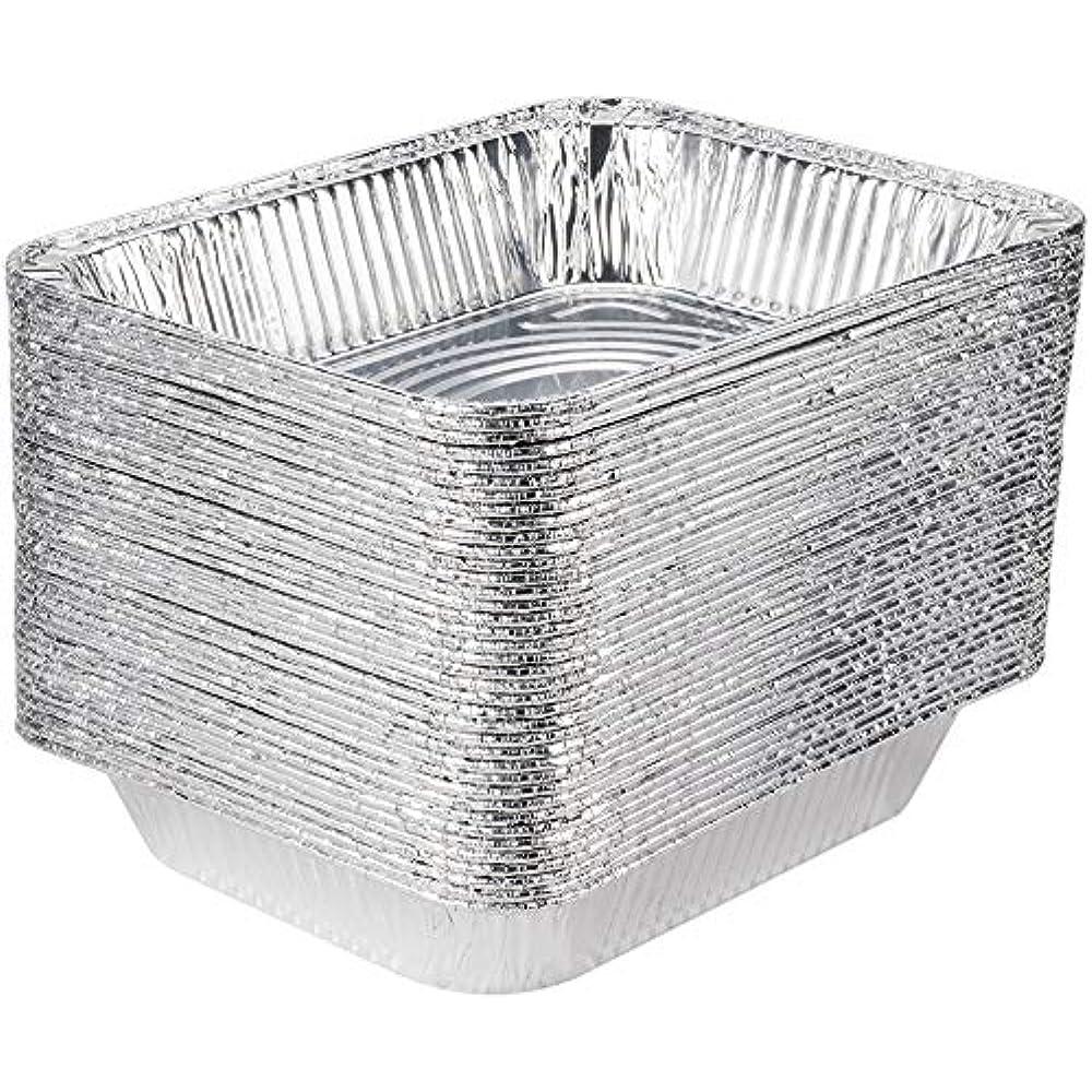 30 Pack 9 X 13 Aluminum Foil Pans Half Size Deep Steam