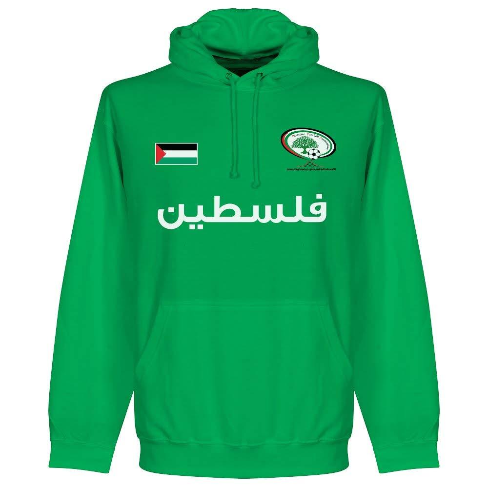 RetakeパレスチナFootball Hoodie – グリーン B01MXFUORB  S