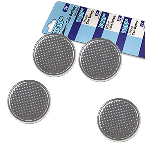 Price comparison product image HQRP 4-Pack Coin Lithium Battery for Contour Next,  Next EZ Blood Glucose Meter 9628,  Blood Sugar Monitor Bayer + Coaster