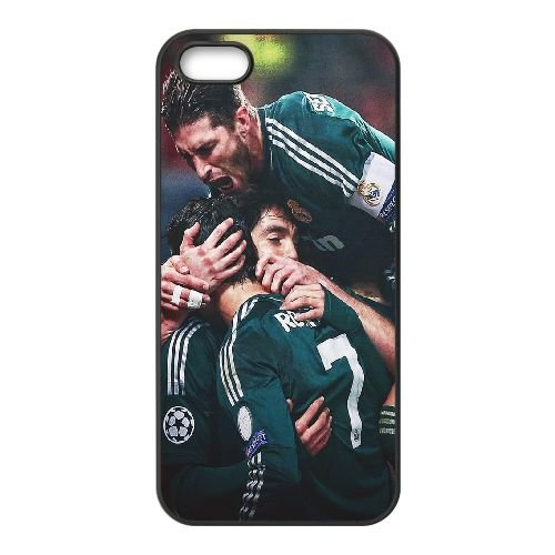 Football Star coque iPhone 4 4S cellulaire cas coque de téléphone cas téléphone cellulaire noir couvercle EEEXLKNBC25096