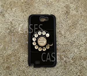Galaxy Note 2 Cases, Rotary Phone Unique Cool Best Cover by lolosakes