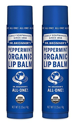 Dr. Bronner's Organic Lip Balm - Peppermint - 0.15 oz - 2 - Bronners Balm Magic Organic