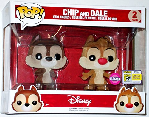 Ivy Chip (SDCC 2017 LE Funko Exclusive Pop! Disney Flocked Chip & Dale Figures 2 Pack)