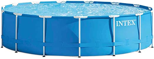 Intex Metal Frame - Piscina desmontable, 457 x 107 cm, con ...