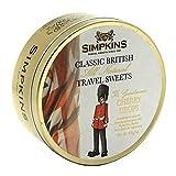 Simpkins Guardsman Cherry Classic British Travel Sweets 200g Tin (Pack of 2)