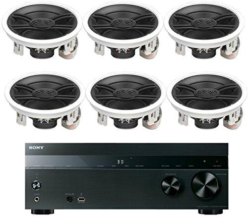 Sony-52-Channel-725-Watt-4K-AV-Home-Theater-Receiver-Yamaha-Natural-Sound-Custom-Install-3-Way-In-Ceiling-120-Watt-Speakers-Set-Of-6