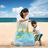 Toys : Aurora Gadgets 11 Extra Large Mesh Toy Tote Bag-Kids Backpacks for Shells Towels,Beach Ball,Clothes