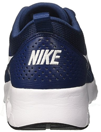 NIKE 419 Thea Femme Bleu Max Air black Navy Baskets White 64qw6azWrU
