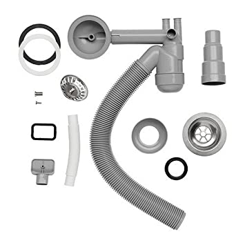 Ikea Atlant Bonde Siphon Bol F Sng évier Amazon Fr Bricolage