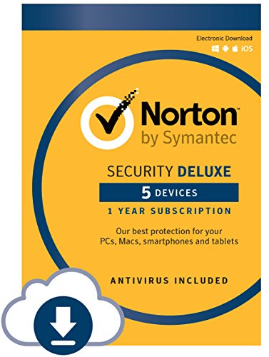 : Norton Security Deluxe – 5 Devices – Free Trial