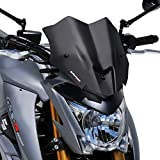 Windshield Ermax Sport Suzuki GSX-S 1000 15-17 dark smoke