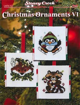 Christmas Ornaments VI Cross Stitch Chart