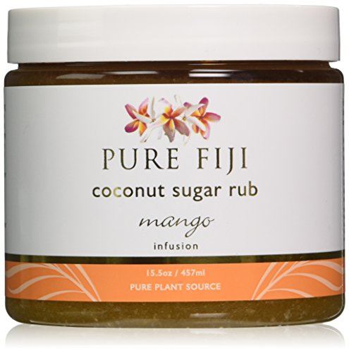 - Pure Fiji Coconut Sugar Rub Mango, 15.5 Ounce
