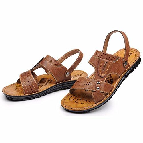 Sommer Männer Sandalen Strand Schuh Männer Atmungsaktiv Freizeit Sandalen Das neue Sandalen Männer Schuh ,braun ,US=8,UK=7.5,EU=41 1/3,CN=42