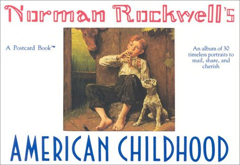Norman Rockwell's American Childhood: A Postcard Book (Running Press Postcard Books)