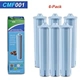 (6 Pack) Jura Clearyl Blue Compatible Coffee Machine Water Filter Compatible With C5, C9 (2nd Gen), J9, Z7, ENA 1, ENA 3, ENA 5, ENA, ENA 9 Jura Espresso Impressa F8, F7, C60, A1, A5, A7, A9,