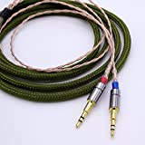 Hi-End 4 cores 1.2m 5N OCC HiFi Cable Headphone Upgrade Cable for Hifman HE1000 HE400S He400i HE-X Oppo PM-1 PM-2
