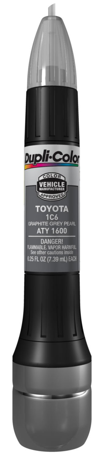 Amazon.com: Dupli-Color ATY1600 Graphite Grey Pearl Toyota Exact-Match Scratch Fix All-in-1 Touch-Up Paint - 0.5 oz.: Automotive