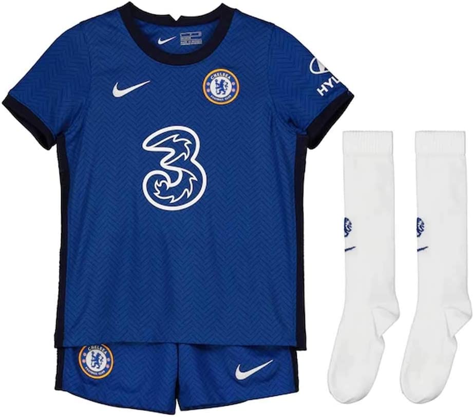 Nike 2020-2021 Chelsea Little Boys Home Mini Kit