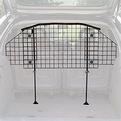 Rage Powersports DB-03721-S-V2 Adjustable Mesh Dog Vehicle Bench Seat Pet Barrier Safety Gate