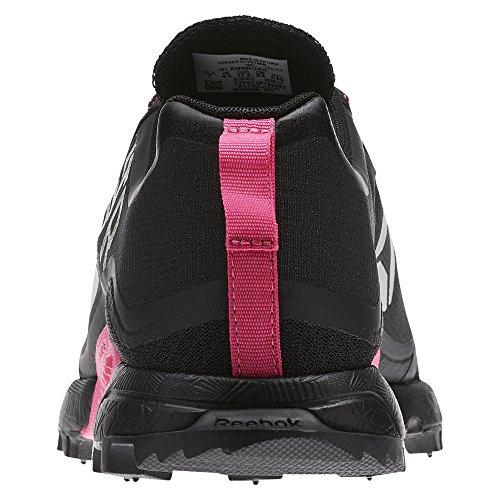 Damen All Black Silver Schwarz Traillaufschuhe Reebok Craze Pink Terrain Solar q5xwHdC