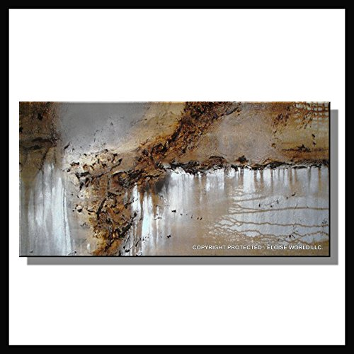 Huge! Canvas Wall Art. Modern, Abstract, Limited Edition Giclee. ECLIPSE 60x30x1.5 Ready to Hang Painting..direct from US artists studio......ELOISExxx