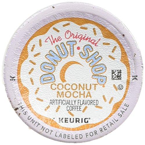 The Creative Donut Shop Coconut Mocha Keurig Single-Serve K-Cup Pods, Medium Roast Coffee, 24 Count