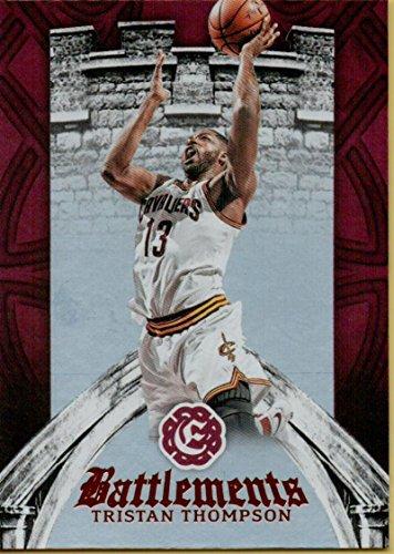 Basketball NBA 2016-17 Excalibur Battlements #15 Tristan Thompson Cavaliers