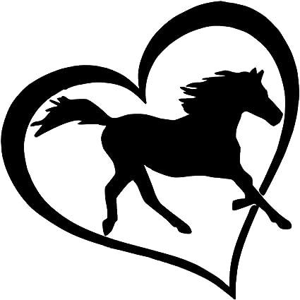 Final del camino Vinilo calcomanía auto ventana calcomanía a caballo