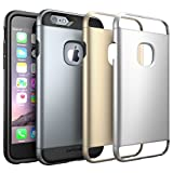 iPhone 6S Case, SUPCASE 2 Layer Slim Hybrid Case with 3 Interchangeable Covers for Apple iPhone 6 / 6S 4.7 inch - Retail Package - Space Gray/Silver/Gold …