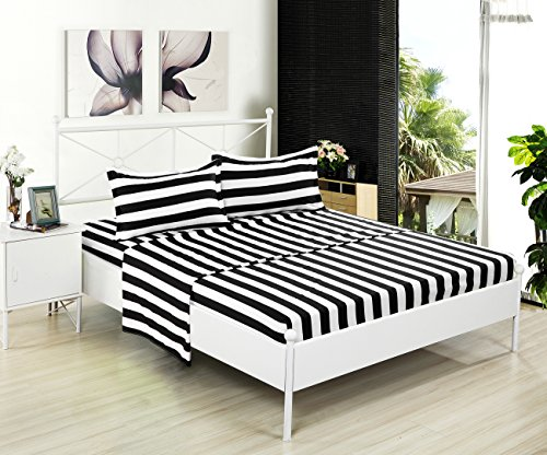 Kuality Striped Brushed Microfiber Resistant product image