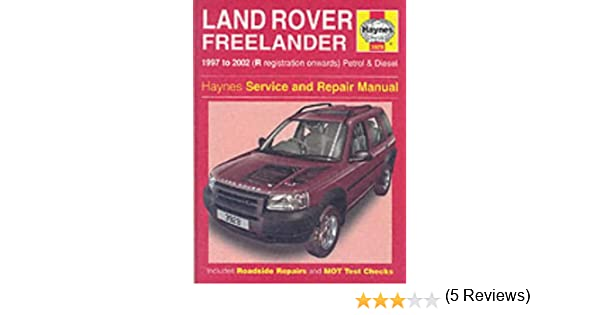 Land rover freelander service and repair manual haynes service land rover freelander service and repair manual haynes service and repair manuals martynn randall r m jex 9781859609293 amazon books fandeluxe Image collections