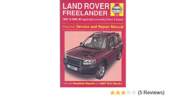 Land rover freelander service and repair manual haynes service and land rover freelander service and repair manual haynes service and repair manuals martynn randall r m jex 9781859609293 amazon books fandeluxe Image collections