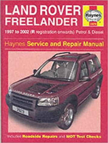 Land Rover Freelander Service And Repair Manual Haynes Service And Repair Manuals Randall Martynn Jex R M 9781859609293 Amazon Com Books
