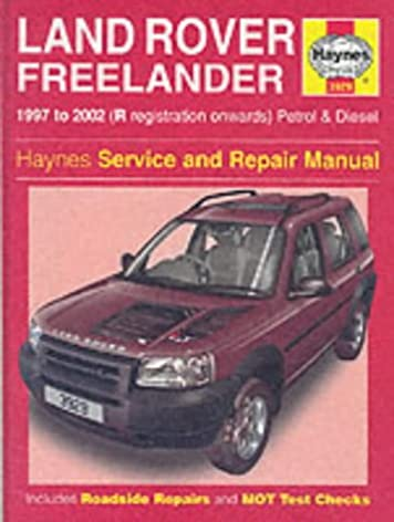 land rover freelander service and repair manual haynes service and rh amazon com Alfa Remeo Service Repair Manuals Service Repair Manuals Online