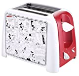 VillaWare V55203 Mickey's Funnies Toaster, Red/White