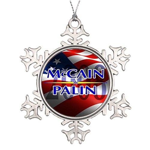 LUlULU Republican Sarah Palin Personalised Christmas Tree Decoration Christmas Decorations -