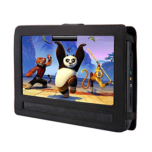 YOOHOO Car Headrest Mount for Swivel & Flip Style Portable DVD Player (10.5 inch)