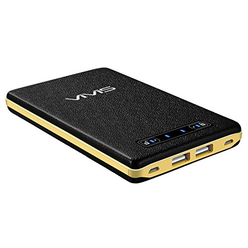 VIVIS-20000mAh-Batera-Externa-Porttil-Power-Bank-Porttil-Batera-Cargador-Porttil-Energa-mvil-2-puertos-de-4A-Entrada-2-puertos-de-5A-Salida-Puertos-iSmart-USB-SANYO-Li-Polmero-Diseo-de-proceso-de-cuer