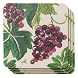 Now Designs Cork-Backed Coasters, Valencia, Set of 4