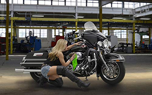 Shine Doctor Motorcycle Cleaning Kit Cleans Chrome, Wheels and Glass and Removes Grime, Bugs and Grease. by Shine Doctor (Image #3)