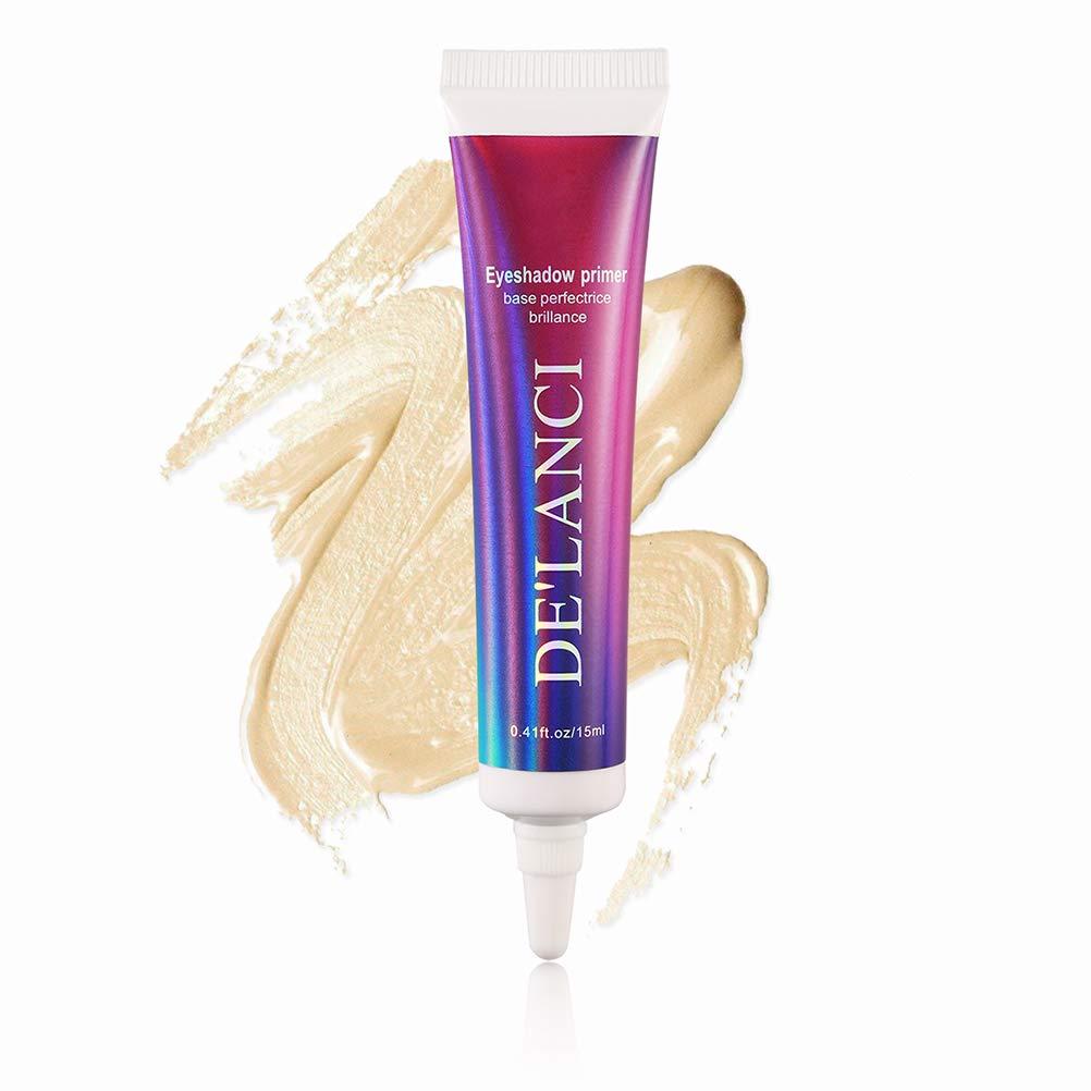 DE'LANCI Professional Makeup Eye Shadow Glitter Primer. Paraben-free and Cruelty Free, 0.41 oz.(15ml)