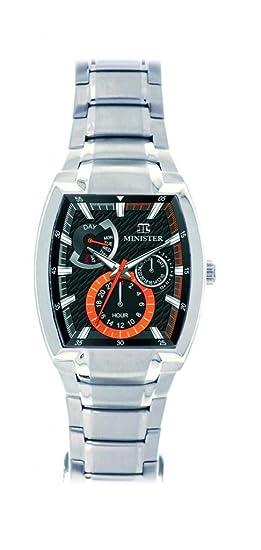 Minister Deportiva-8484 Reloj hombre de pulsera Deportiva-: Minister: Amazon.es: Relojes