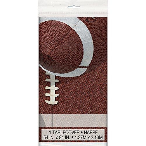 Football Plastic Tablecloth, 84