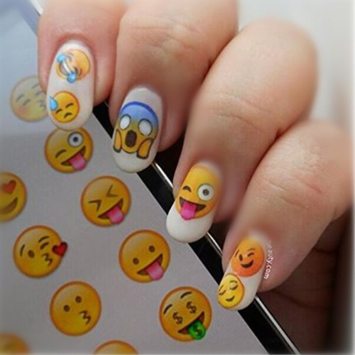 NICOLE DIARY Nail Art Stickers Various Expression Nail Art Decoration NDS-33 (Korean Tattoo Sticker)