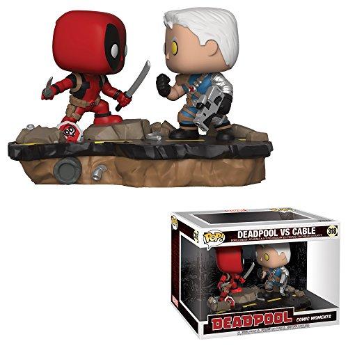 Funko Pop Marvel: Comic Moments-Deadpool Vs. Cable Collectib