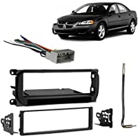 Fits Dodge Stratus Sedan 2002-2006 Single DIN Harness Radio Install Dash Kit