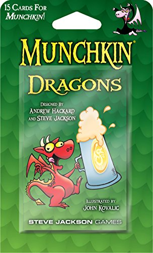 Steve Jackson Games Munchkin Dragons Booster Pack