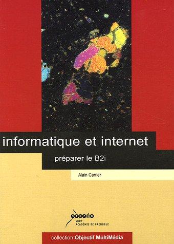 Informatique et internet : Préparer le B2i